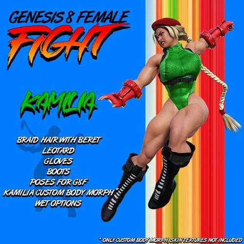 G8F Fight! KAMILIA