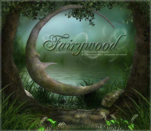 Fairywood Backgrounds