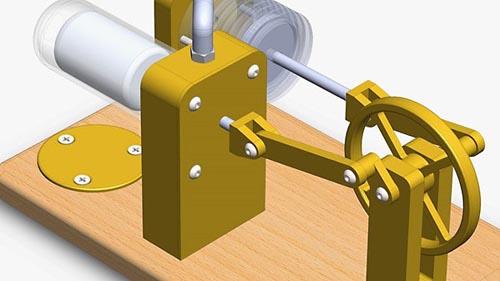 Lynda – SOLIDWORKS: Designing a Stirling Engine