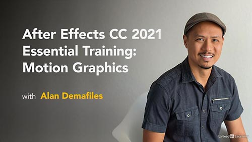 Lynda – After Effects CC 2021 Essential Training: Motion Graphics