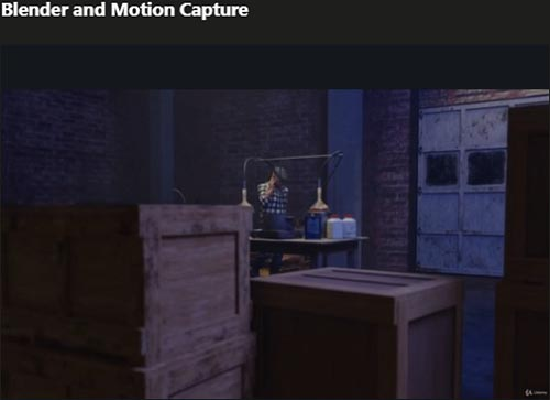 Udemy – Blender and Motion Capture by Darrin Lile