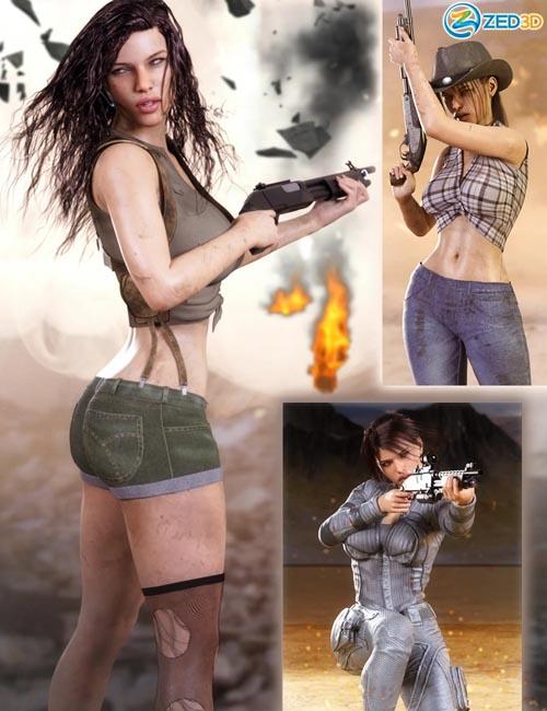 Z Multiform Shotgun Prop and Pose Mega Set