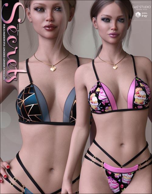 Secrets for X-Fashion Eva Lingerie G8F