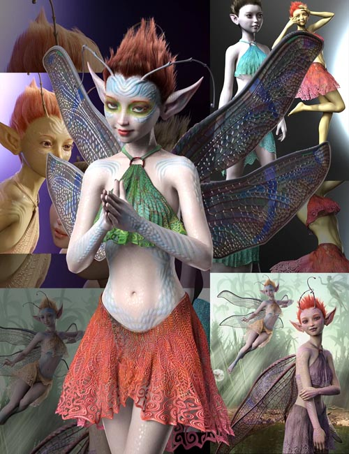 Orla Fae Bundle for Genesis 8 Female
