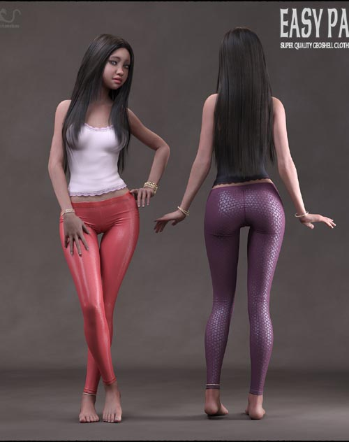 Easy Pants for Genesis 8