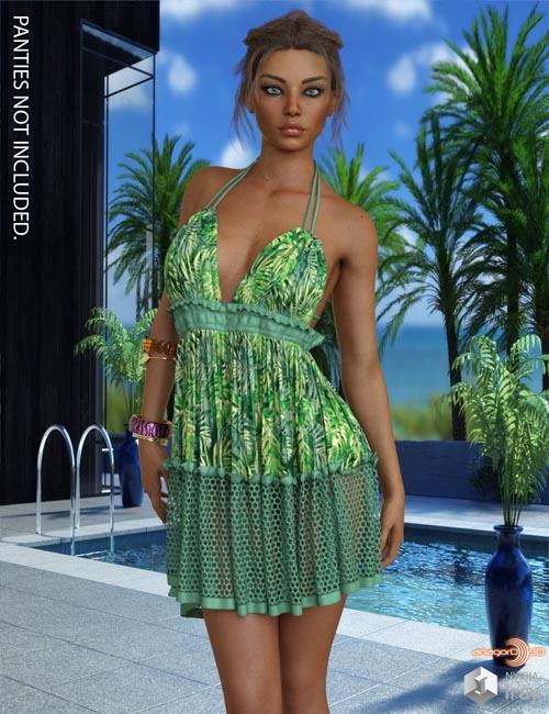VERSUS - dForce Mini Dress for Genesis 8 Females