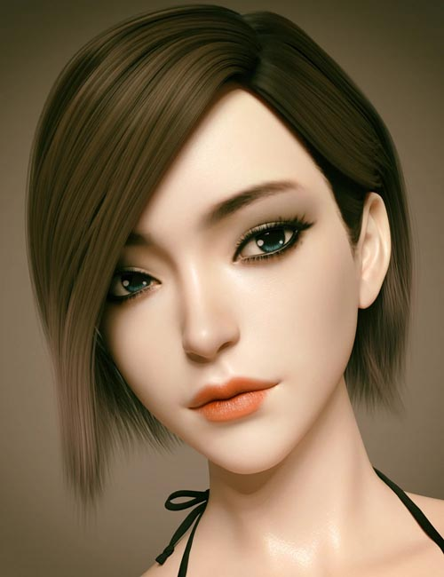 Aillee Character And Hair for Genesis 8 Female