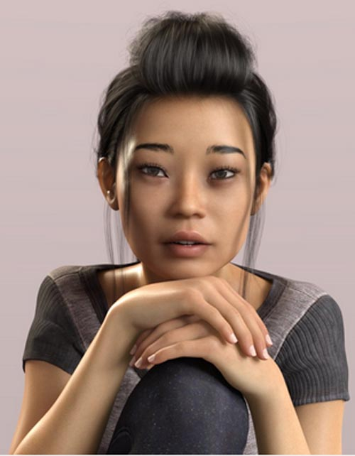 Yumeko - Beautiful Asian Female