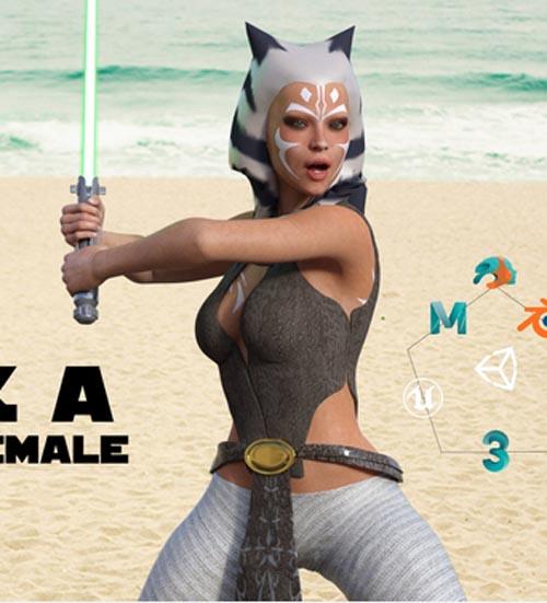 Ahsoka For Genesis 8 Female and Daz Studio