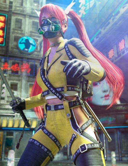 Katana HD Bundle for Genesis 8 Females