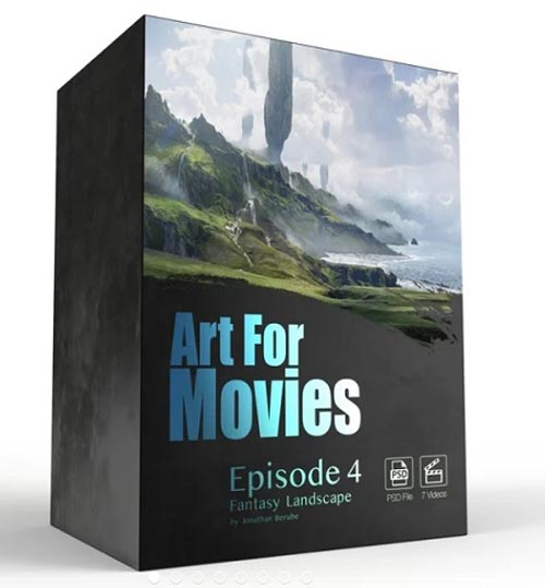 Gumroad – Art For Movies – Episode 4 Fantasy Landscape By Jonathan Berube