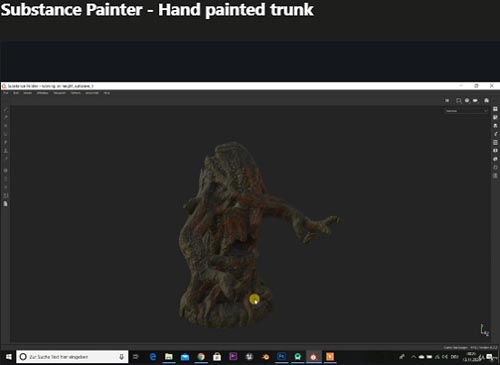 Udemy – Substance Painter – Hand painted trunk