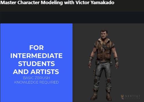 Udemy – Master Character Modeling with Victor Yamakado