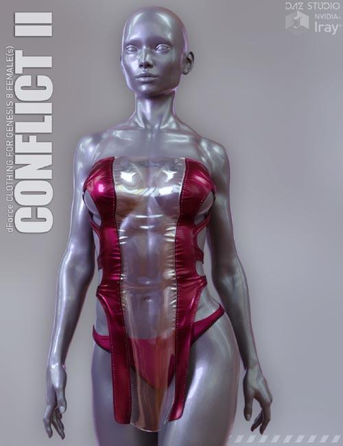 dForce Conflict II for Genesis 8 Females