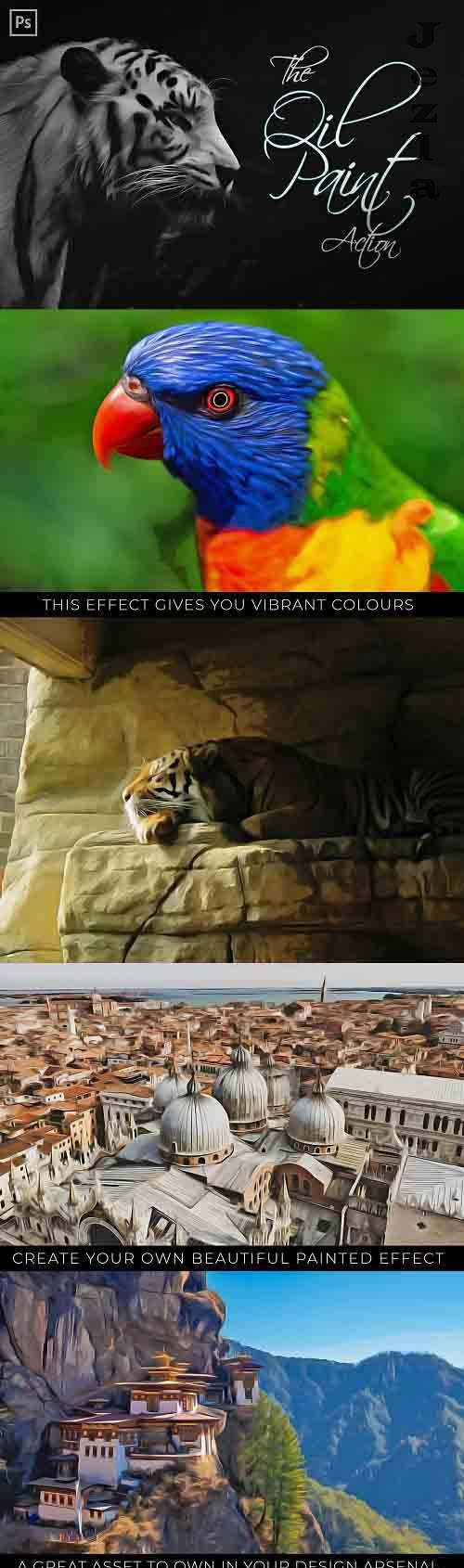 The Oil Painting Photoshop Action - 6121559
