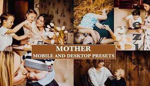 Cinematic Mother Gold Tones Desktop & Mobile Lightroom Presets