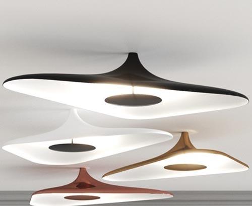 Luceplan Soleil Noir by Studio Odile Decq Ceiling Light