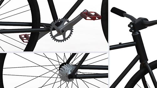 Lynda – SOLIDWORKS: Modeling a Bicycle
