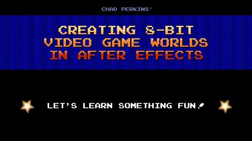 Skillshare – Creating 8-bit Video Game Worlds in After Effects