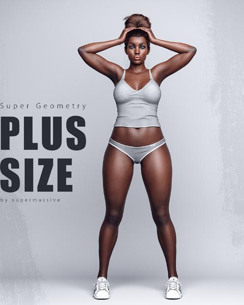 Super Geometry / Plus Size - Full Body Morphs G8F