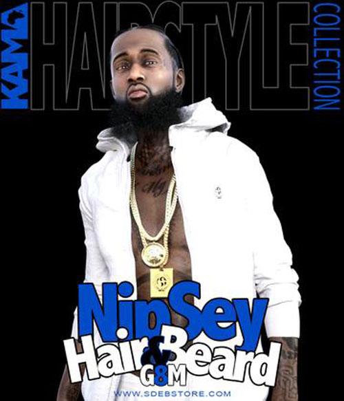 Nipsey Hair And Beard G8M