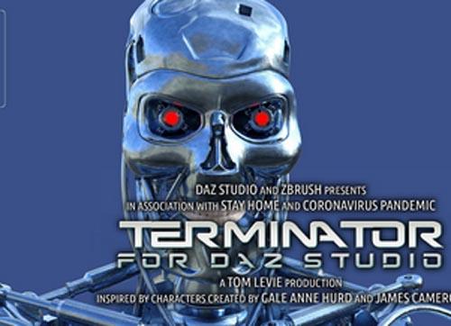 Terminator For Daz Studio