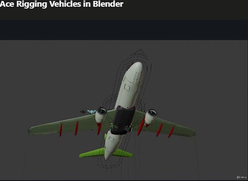Udemy – Ace Rigging Vehicles in Blender