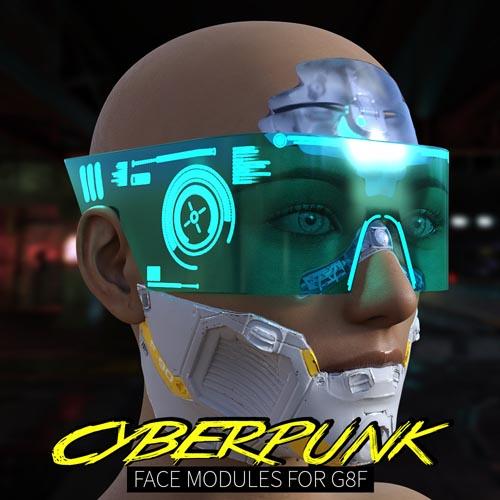 Cyberpunk Faces Modules for G8F
