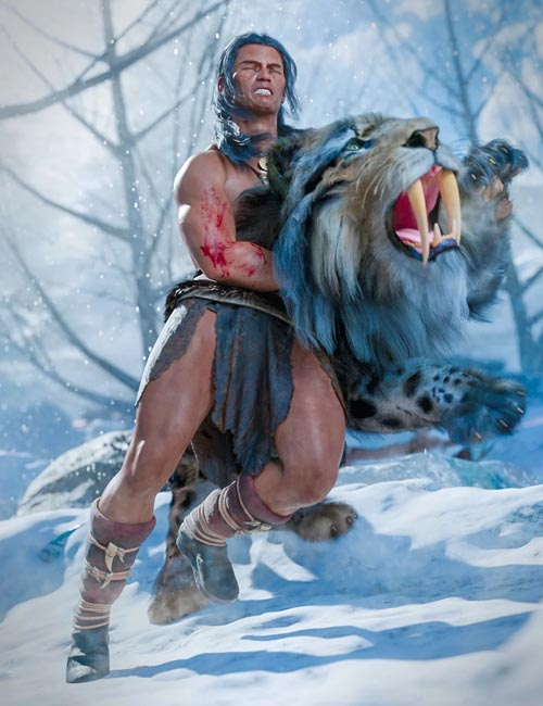 dForce Cimmerian Outfit for Genesis 8 Male(s)