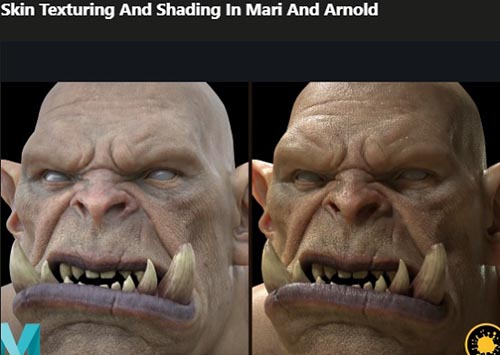Udemy – Skin Texturing And Shading In Mari And Arnold
