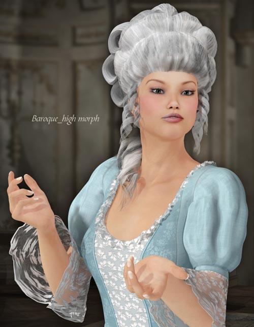 Rococo Hair for V4