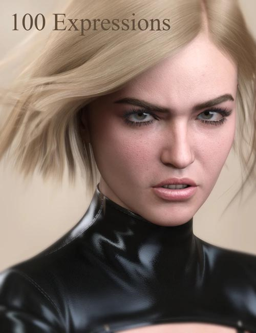 V 100 Expressions The Gold Collection 2 for Genesis 8.1 Female
