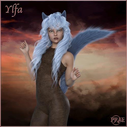 Prae-Ylfa For G8 Daz