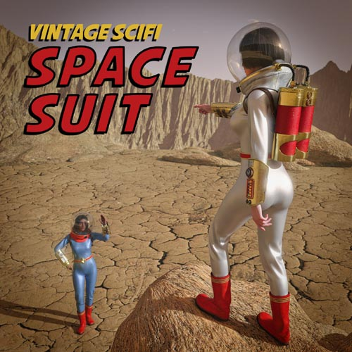 Vintage SciFi Spacesuit for G8F and G8.1F
