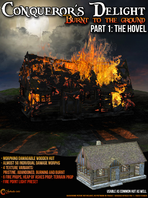 Conquerors Delight - Burnt to the Ground - Hovel