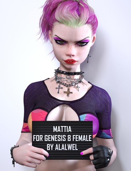 Mattia for Genesis 8 Females
