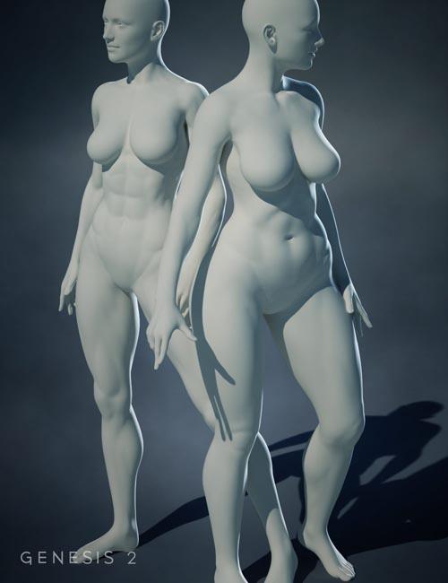 Genesis 2 Female Body Morphs