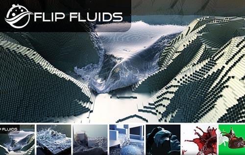Blender Market – Flip Fluids v1.0.9b for Blender