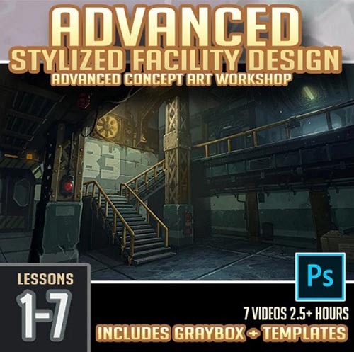 Gumroad – Advanced Stylized Facility Concept Art Workshop