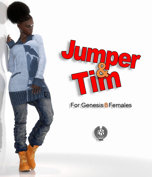 Jumper And Tim For Genesis 8 Females