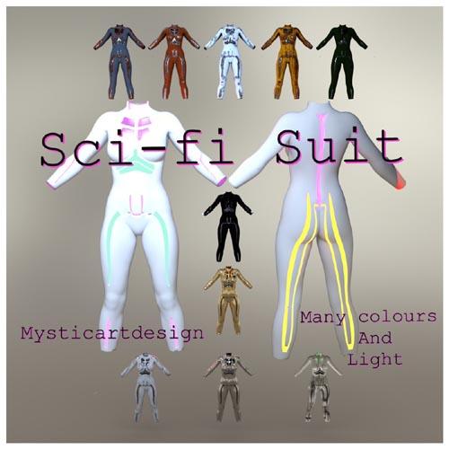 SCI-FI SUIT FOR GF8 BY BONNYB1234