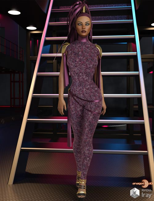 VERSUS - Mastermind dForce Outfit for Genesis 8 Females