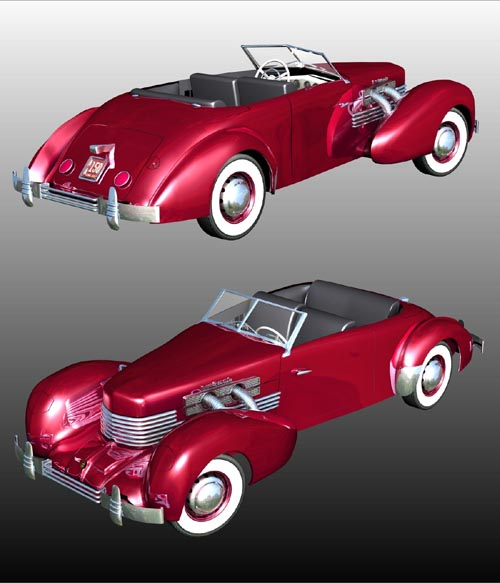 CORD 812 SUPERCHARGED for POSER