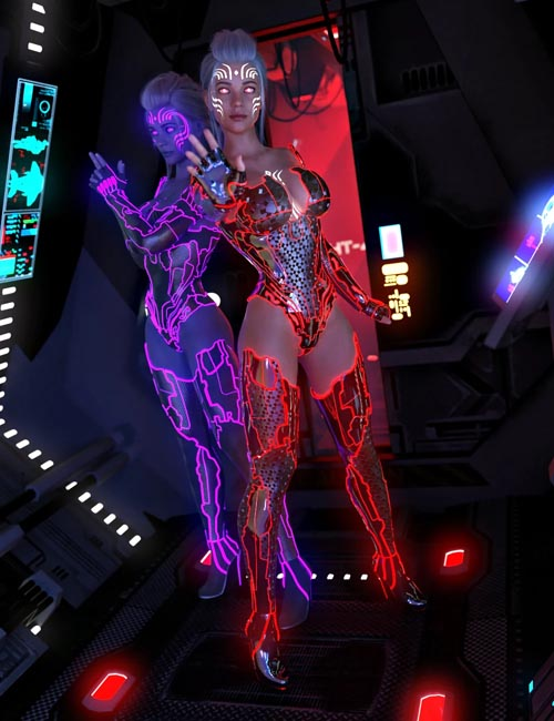 Electrified for CyberPunk Unlimited Outfit