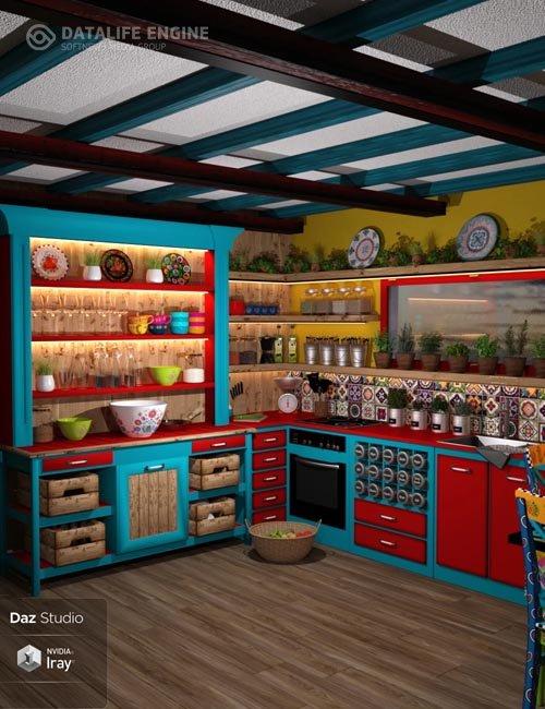 Boho Cottage : The Kitchen