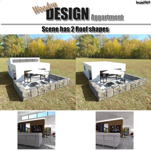 Wooden Design Appartment