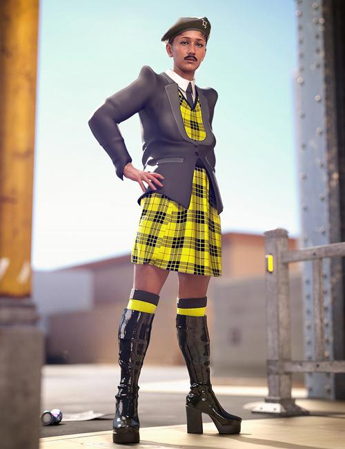 Catty 8.1 Gender Fluid Pride Fashion Bundle [Complete]