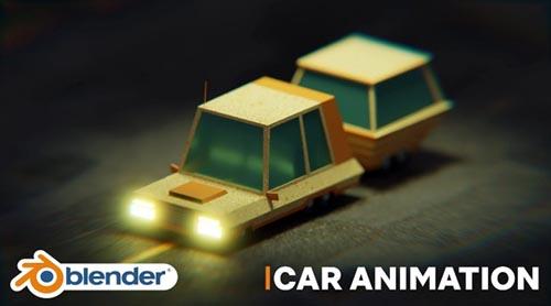 Skillshare – Create A Simple Car Animation In Blender 3D