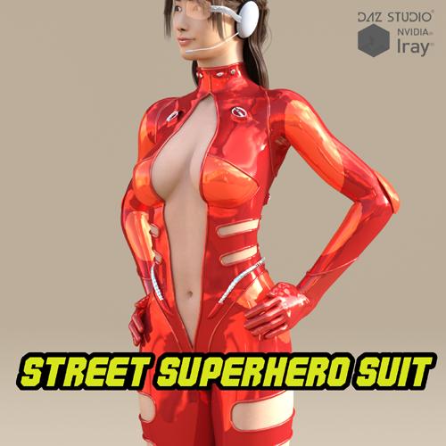 STREET SUPERHERO SUIT FOR G8F