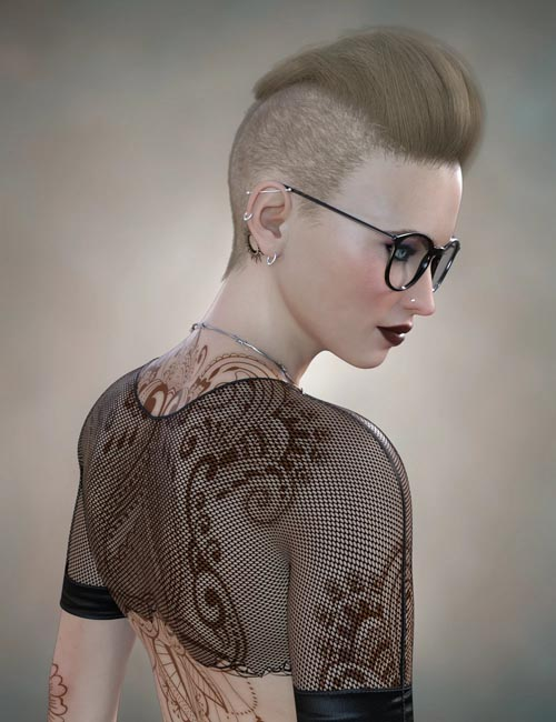 Makenna Hair for Genesis 8 Females